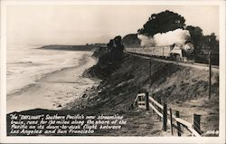 The Daylight, Southern Pacific's new streamline train Postcard