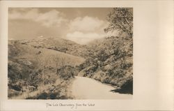 The Lick Observatory from the West Postcard