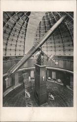 Telescope at Lick Observatory Postcard