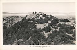 Lick Observatory from the East Postcard