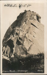 Moro Rock - ht 2000 ft Postcard