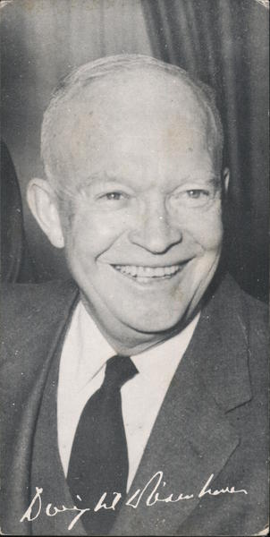 President Eisenhower re-election campain ad Presidents