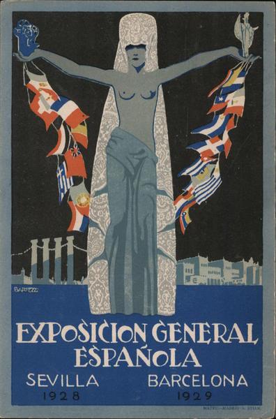 Exposicion General Espanola 1928 Sevilla 1929 Barcelona Spain