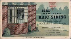 Bird Insulated Bric Siding - Interstate Housing Company Blotter