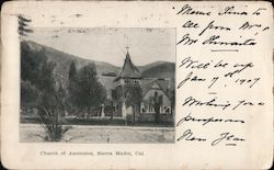 Church of Ascension Postcard