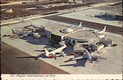 Los Angeles International Jet Port Postcard
