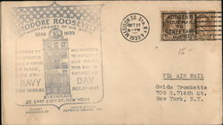 Theodore Roosevelt: 75th Anniversary of his birth Cover