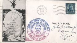 Quentin Roosevelt Post No. 4 American Legion. Home of Theodore Roosevelt Cover