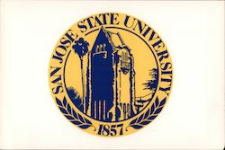 San Jose State University alumni donation solicitation Postcard