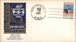 46th Convention P.S.S. August 17-20 1967. Sainte Claire Hotel Cover