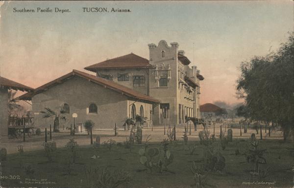 Southern Pacific Depot Tucson Arizona