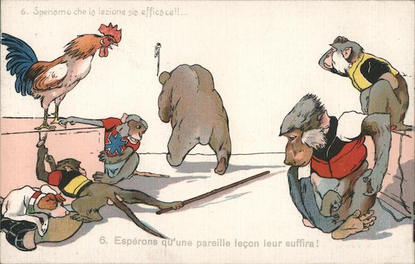 Boer War, Monkeys France
