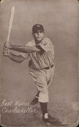 Charles Keller, NY Yankees baseball player Arcade Card