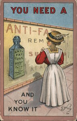 You need a Anti-Fat cure and you know it. Postcard