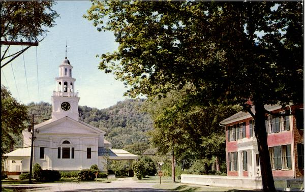 First Congregational Church Woodstock Vermont