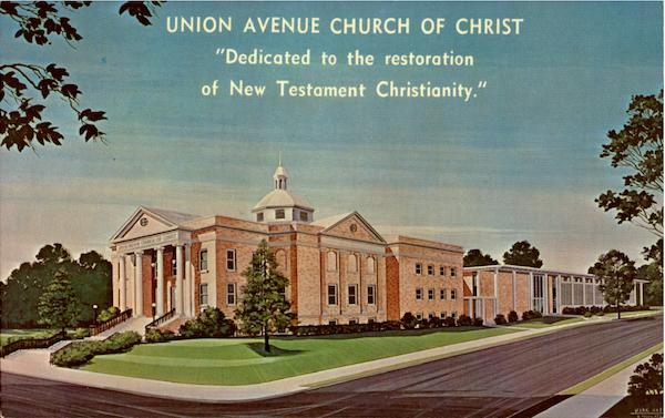 Union Avenue Church Of Christ Mid-Memphis Tennessee