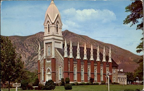 L D S Tabernacle Brigham City Ut