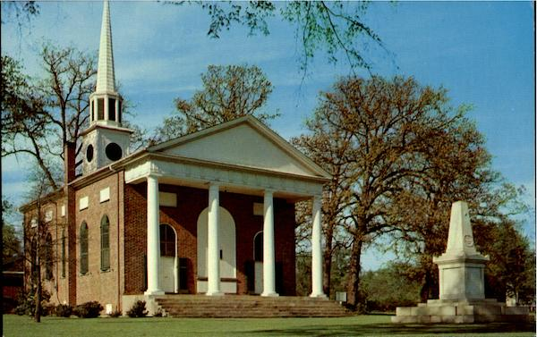 Bethesda Presbyterian Church and Grave of Baron DeKalb Camden South Carolina