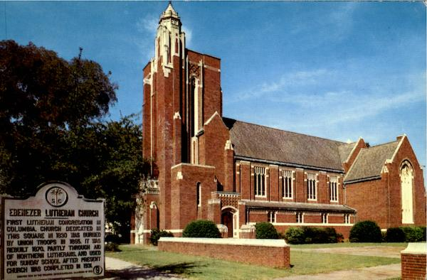 Ebenezer Lutheran Church Columbia South Carolina