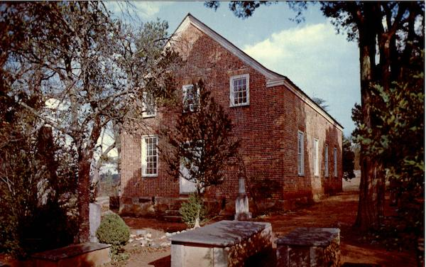 Old Brick Church (Ebenezer) Fairfield County South Carolina