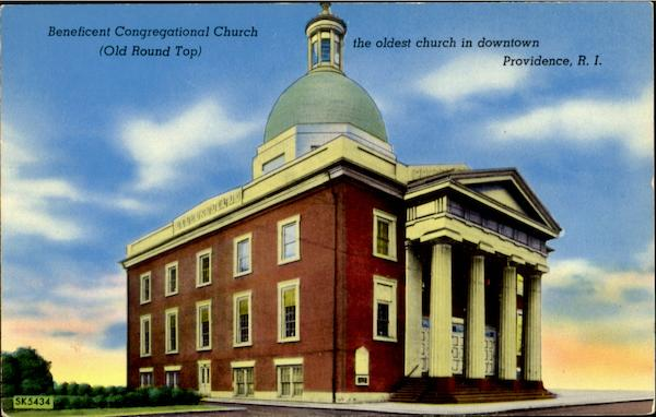 Beneficent Congregational Church (Old Round Top) Providence Rhode Island