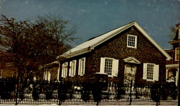 Germantown Mennonite Meetinghouse Philadelphia Pennsylvania