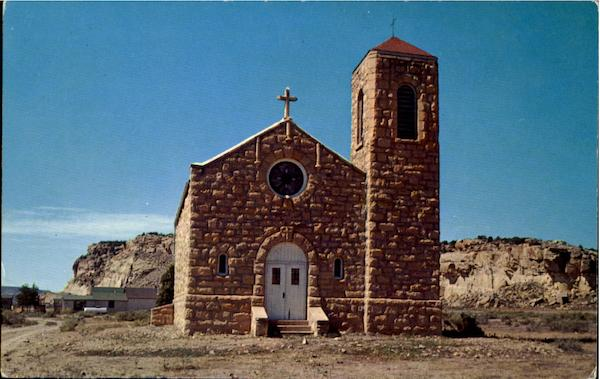 Indian Mission Church Manuelito New Mexico