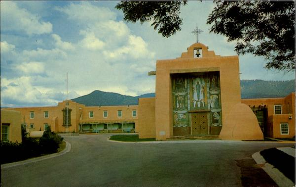 Immaculate Heart Of Mary Seminary Santa Fe New Mexico