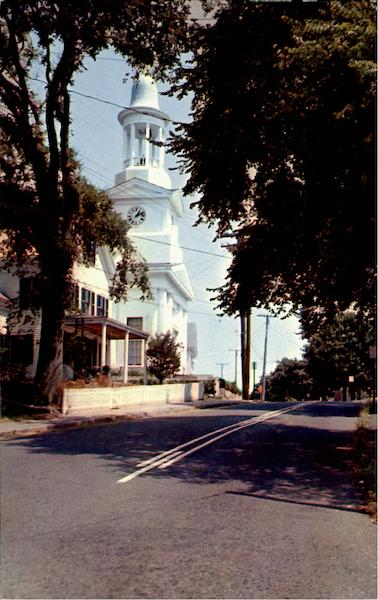 First Congregational Church Cape Cod Massachusetts