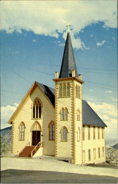 St. Paul's Episcopal Church Virginia City Nevada