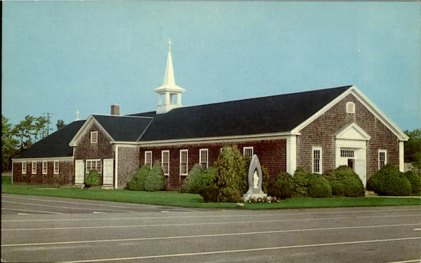 Our Lady Of The Highway Roman Catholic Church Cape Cod Massachusetts