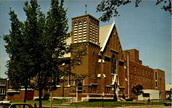 St. Patricks Catholic Church and St. Mary's Hospital
