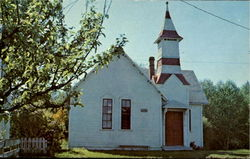 Oyesterville Baptist Church Postcard