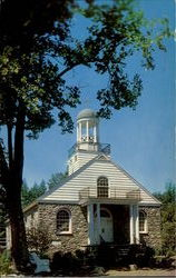 The Moravian Church of Canadensis(in the pocono mountains)