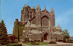 The Cathdral of the Blessed Sacrament Postcard