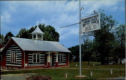 Sinking Creek Baptist Church Postcard