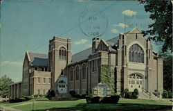 The First Christian Church Postcard