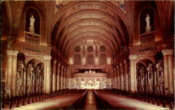National Shrine Of Our Lady Of Victory Basilica Lackawanna 18, Newyork General View From Front Of Church