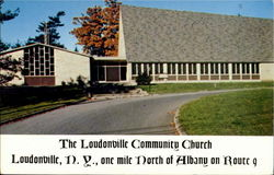 The Loundonville Community Church, One Mile North Of Albany On Route9