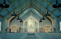 Interior Of New St. Francis Of Assisi Catholic Church