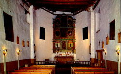 Interior Of San Miguel Church