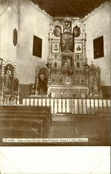 Altar Of The Old San Miguel Church