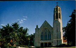 Beautiful Dowd Memorial Chapel At Father Flanagan'S Boys Home, A Few Miles West Of Omaha