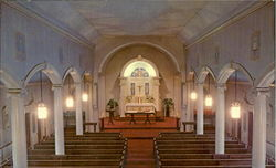St. Francis Xavier Church Postcard