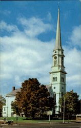 First Congregational - Universalist Parish Unitarian Gathered 1733