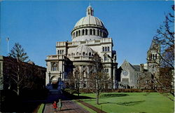 Christian Science Mother Church/ The First Church Of Christ, Scientist Postcard