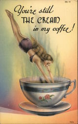 You're Still The Cream In My Coffee! Postcard