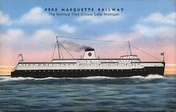 Pere Marquette Railway - The Railroad that Crosses Lake Michigan