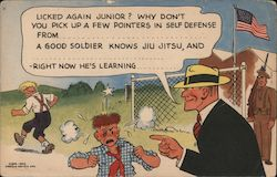 Dick Tracy card, U. S. Army soldiers