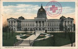 The Capitol, Harrisburg, PA Postcard